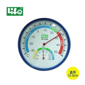 徠福 LIFE 溫溼度計 NO.2459 (塑膠框)