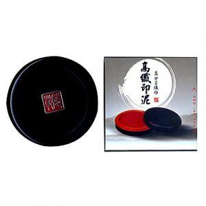 天成 高纖印泥 (大) NO.140 (直徑85mm)