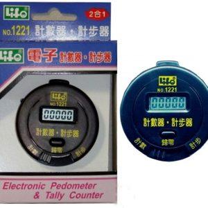 LIFE 徠福 NO.1221 電子計數器、計步器 (2合1)