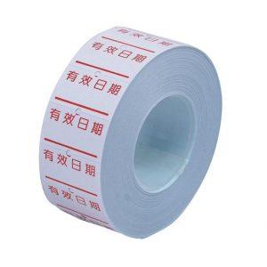LIFE徠福 1Y標價紙 (製造日期、保存期限、有效期限、有效日期) (10捲入)