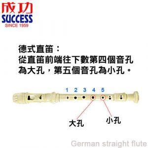 成功 德式/英式 抗菌高音直笛 (2000B/2000C)