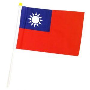 宏吉 2號手拿小國旗 連桿-附鍍金頭  (布面)