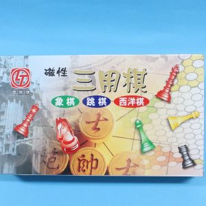 雷鳥 磁性三用棋(象棋.跳棋.西洋棋) LT-3016