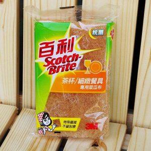 3M 百利 41Y-3M 菜瓜布(茶杯/細緻餐具專用) (3片入) (祥)