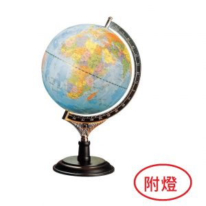萬事捷 Fucashun MS-110LAW 10吋地球儀 (木座)-附燈