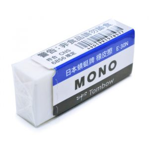 日本 蜻蜓牌 TOMBOW 橡皮擦 E-30N (小)