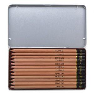 利百代 CB-9900 專家用繪圖鉛筆組 (盒裝12支入)