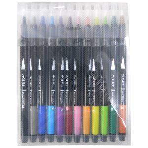 ACE英士  CB-600-12C 卡式彩繪毛筆 套裝組 (12色組)