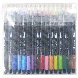 ACE英士  CB-600-16C 卡式彩繪毛筆 套裝組 (16色組)