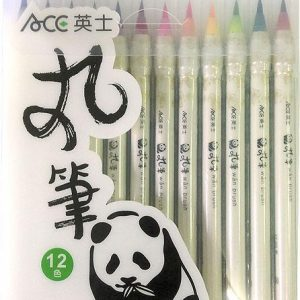 ACE 英士 CT-200 彩繪丸筆 套裝組 (12色組)
